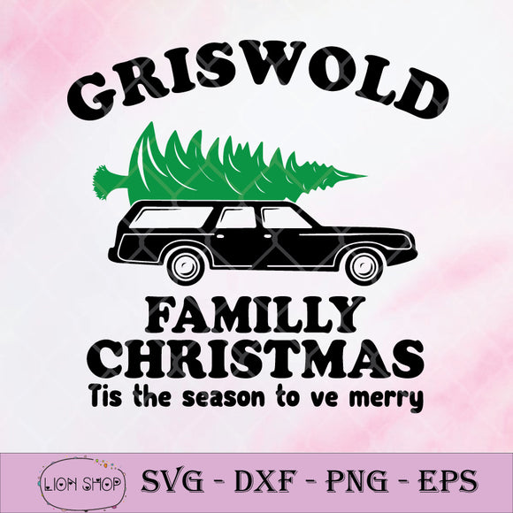 Griswold Family Christmas Tis The Season To Be Merry SVG-SVGPrints