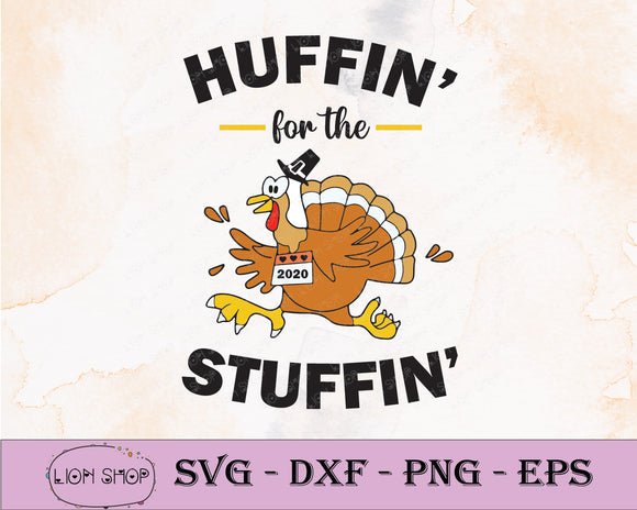 Huffin For The Stuffin SVG PNG Clipart Digital Download - SVGPrints