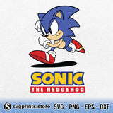 Sonic The Hedgehog SVG, The Hedgehog SVG Clipart PNG Digital Download - SVGPrints