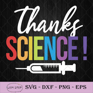 Thanks Science Pro Vaccine Vaccination SVG PNG DXG EPS-SVGPrints