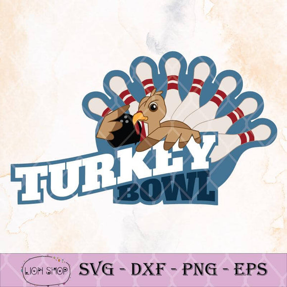 Bowling Turkey SVG, Thanksgiving SVG-SVGPrints