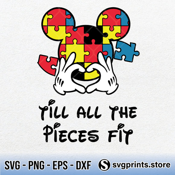 Till All The Pieces Fit SVG PNG DXF EPS-SVGPrints