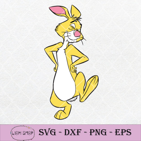 Winnie The Pooh Rabbit SVG, Winnie The Pooh SVG PNG DXF EPS-SVGPrints