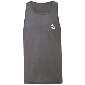 OM Logo Heather Grey Tank Top