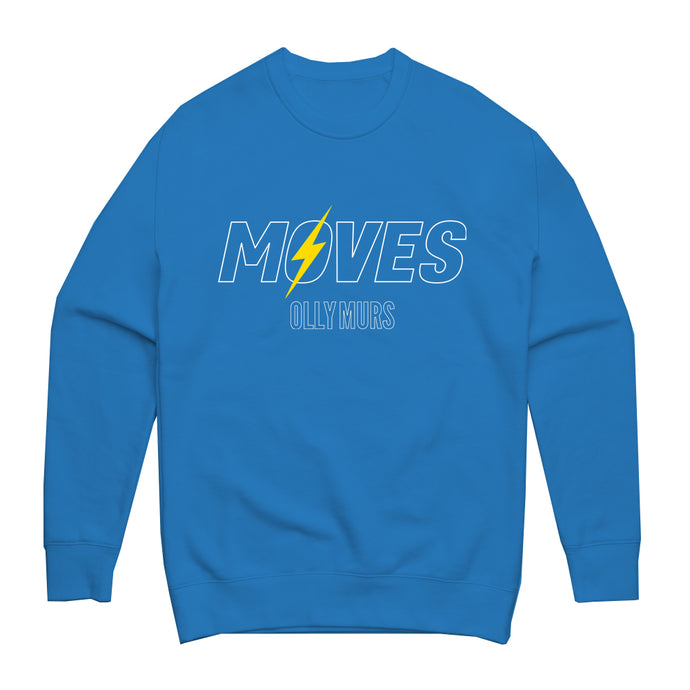Moves Logo Blue Sweatshirt