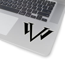Load image into Gallery viewer, Kiss-Cut Stickers Black Emblem