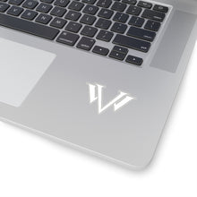 Load image into Gallery viewer, Kiss-Cut Stickers White Emblem
