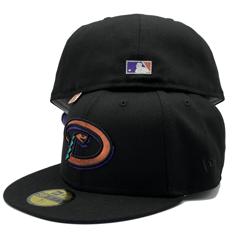 Arizona Diamondbacks 1998 Inaugural Season Patch Fitted Hat