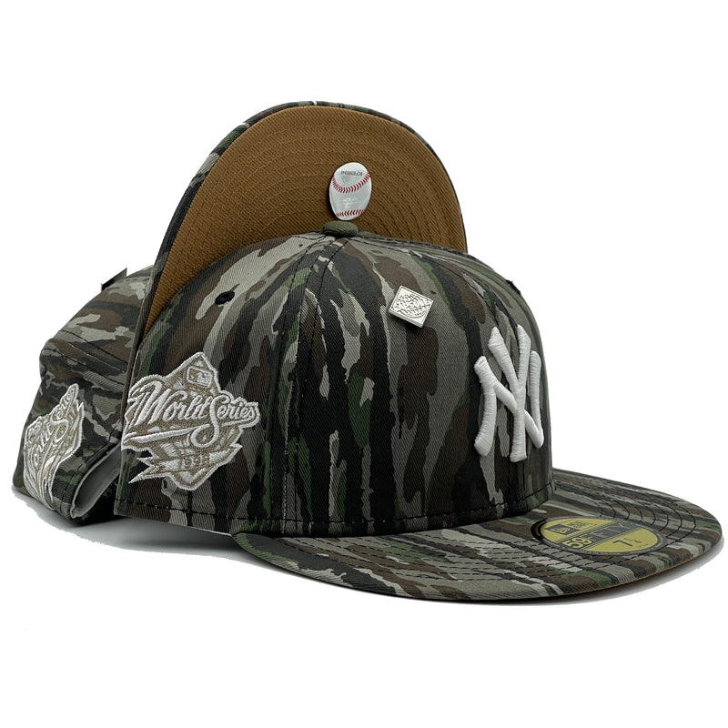 New York Yankees Realtree Camo 1998 World Series Fitted Hat