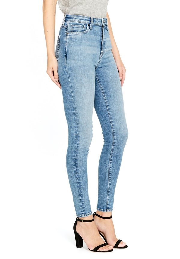 Buffalo David Bitton HI RISE SKINNY SKYLAR JEANS - BL15659 COLOR LIGHT VINTAGE