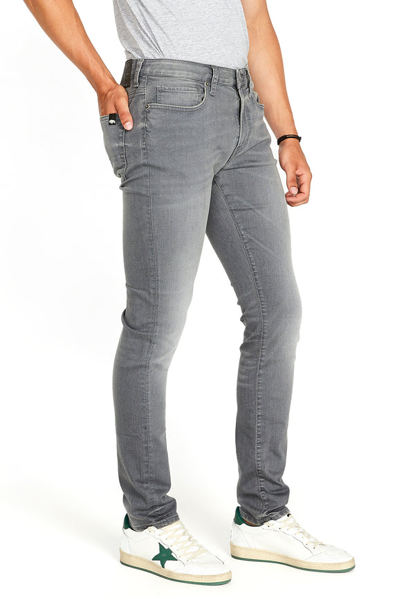 Buffalo David Bitton SKINNY MAX JEANS - BM22592 COLOR GREY