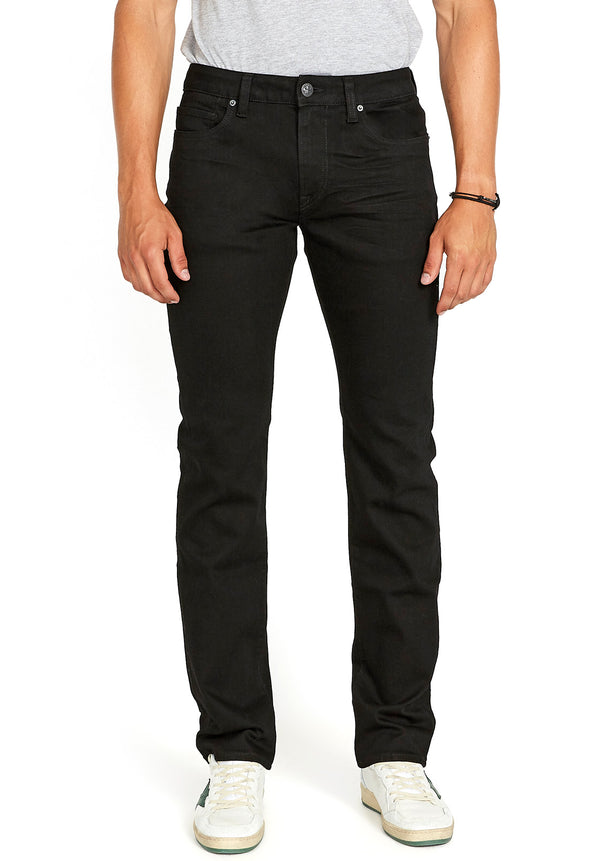 Buffalo David Bitton STRAIGHT SIX JEANS - BM22632 COLOR BLACK