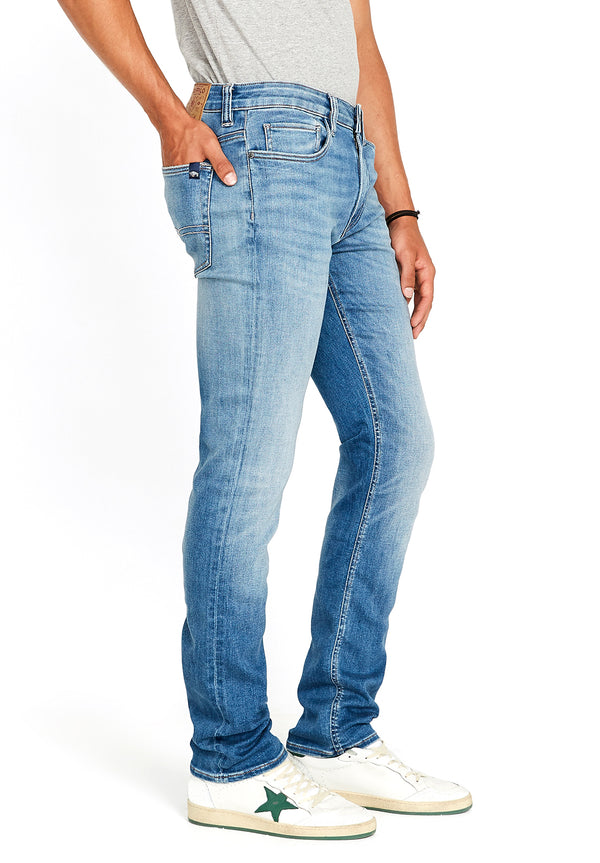 SLIM ASH Faded Light Jeans - BM22667