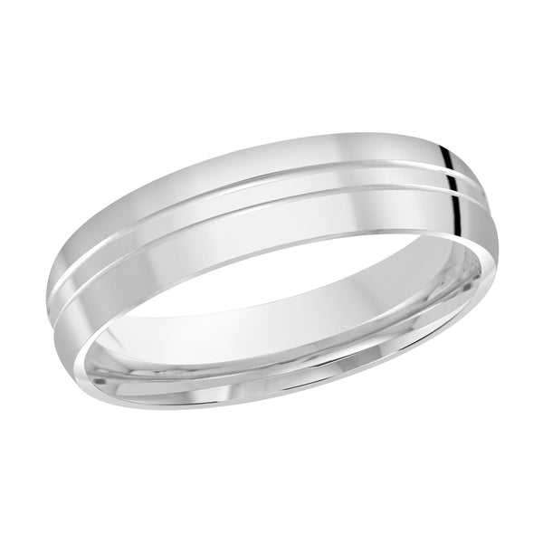 Men's Classic Wedding Band- Double Line