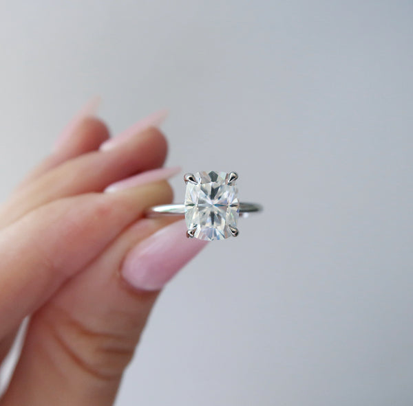 The Juno - Elongated Cushion Cut