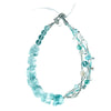 Atla - Aqua Quartz Necklace Full View