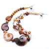 Gaia - Ammonite Necklace S View
