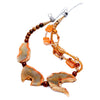 Turan - Orange Agate Necklace S View