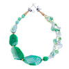 Danu - Green Agate Necklace Full View