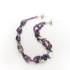 Athena - Amethyst Nugget Necklace