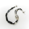 Selene - Black and Silver Necklace