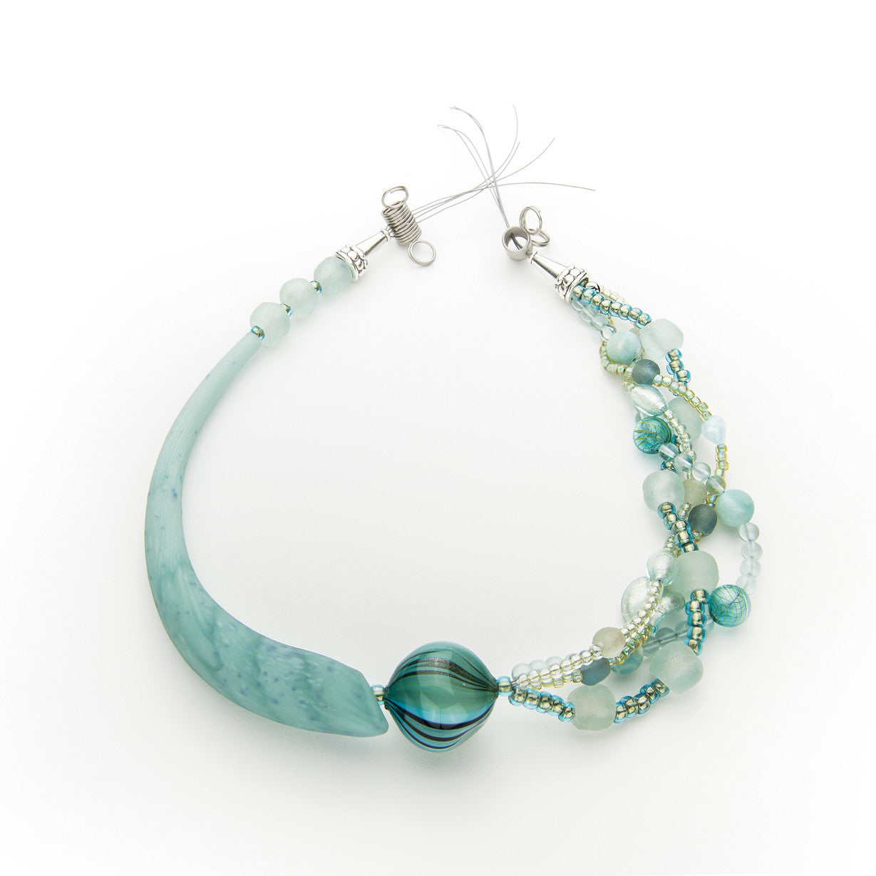 Nesoi - Aqua Choker Necklace