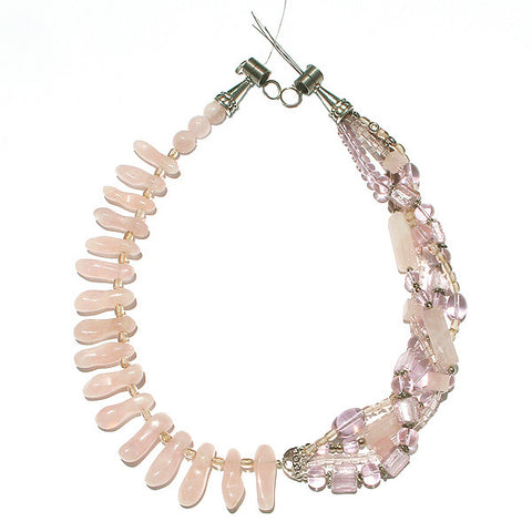 Harmonia - Rose Quartz Necklace