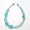 Mama Qucha - Amazonite and Art Glass Necklace
