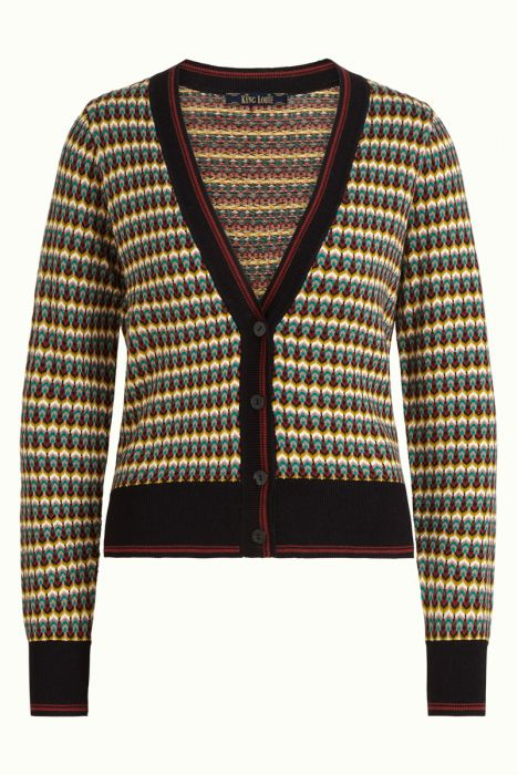 King Louie Cardi V Neck Niji 05371_001