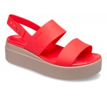 Crocs Brooklyn Low Wedge Flame 206453 T92
