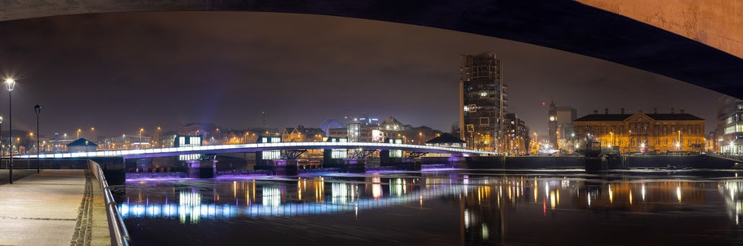 Belfast at Night Panorama
