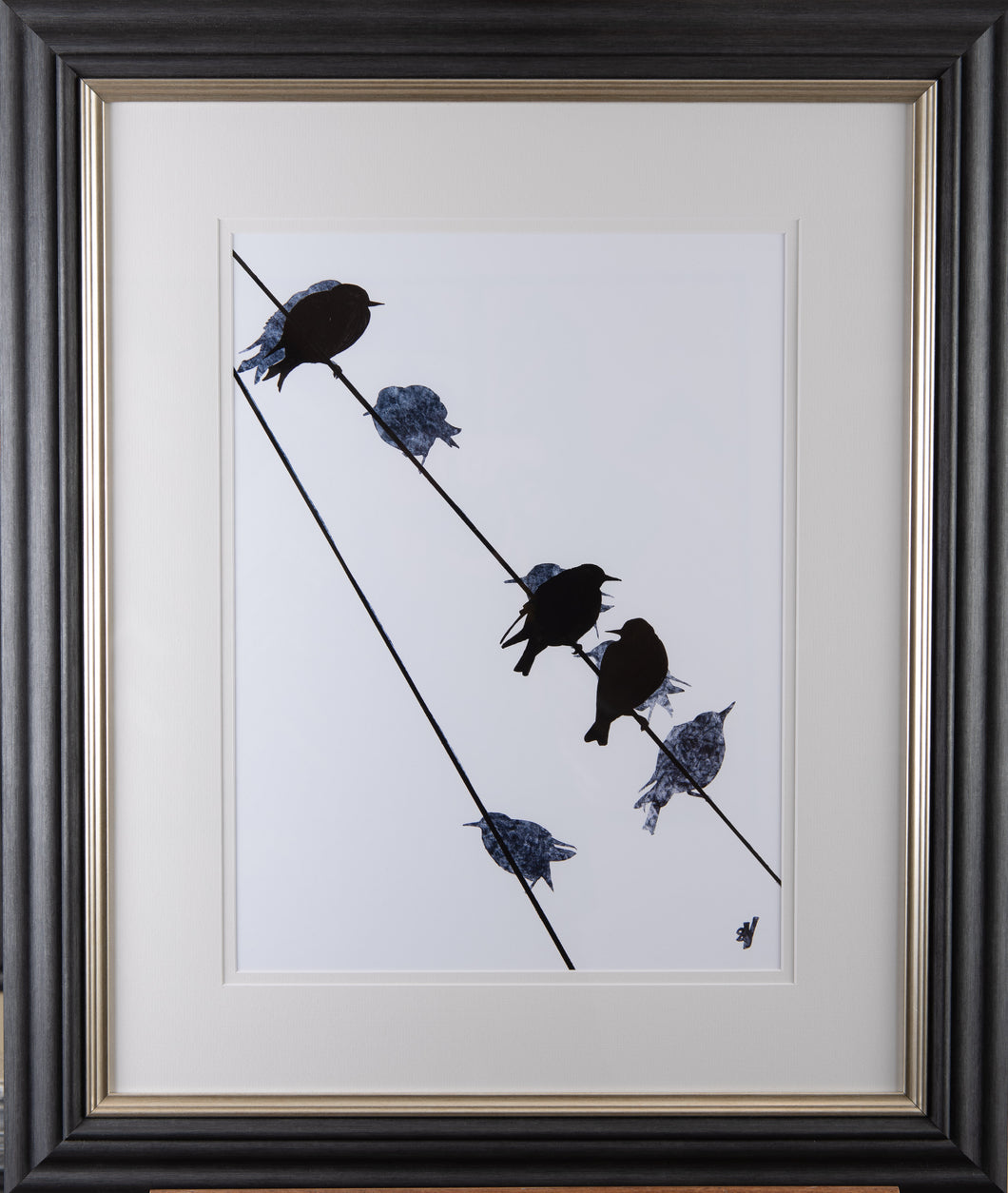 Starlings - Framed
