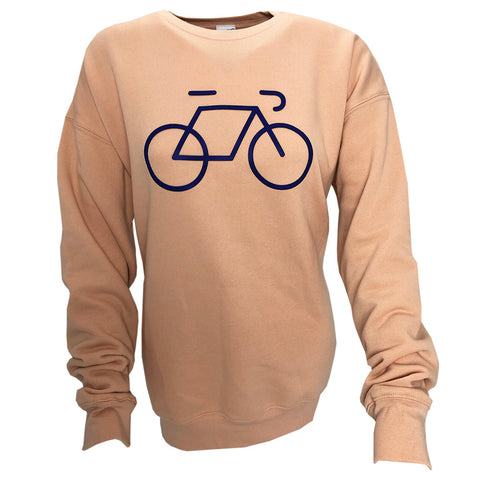Fiets! sweater pink/blue