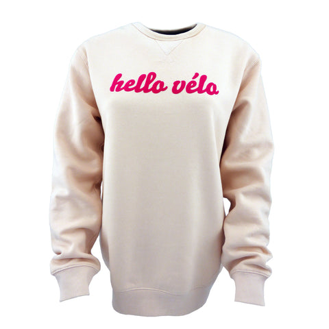 Hello Vélo sweater ladies