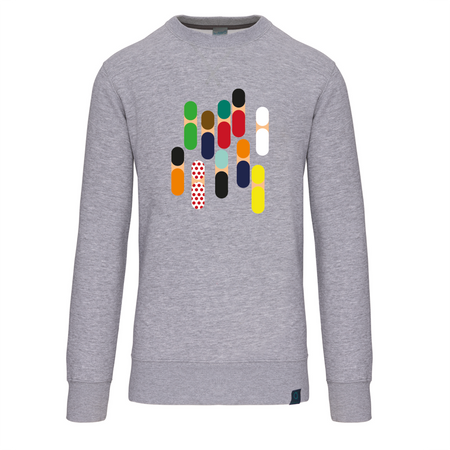 Abstract Peloton sweater