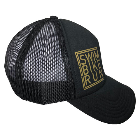 Swim Bike run cap