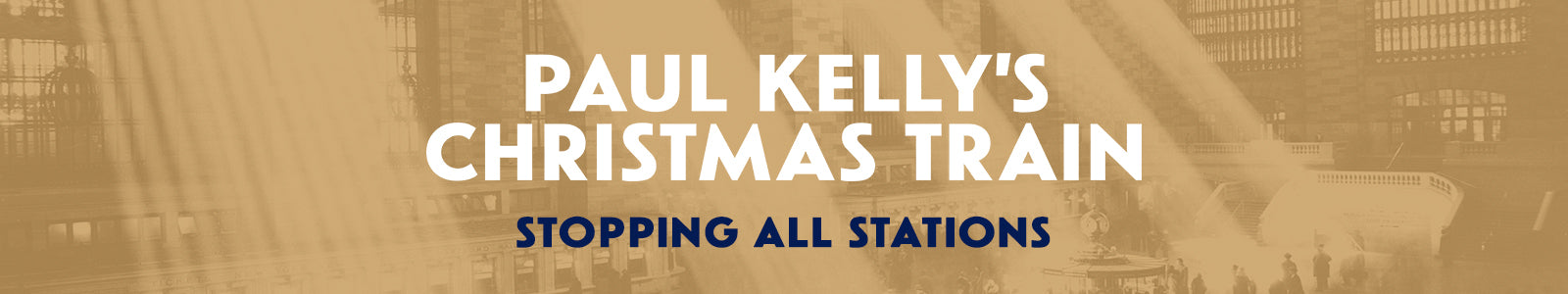 Paul Kelly's Christmas Train Category Banner
