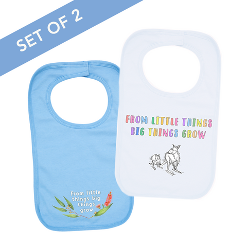 Paul Kelly Little Things Bib Set