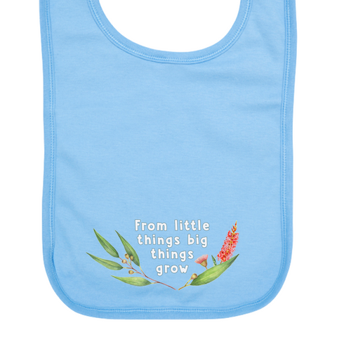 Paul Kelly Little Things Blue Bib