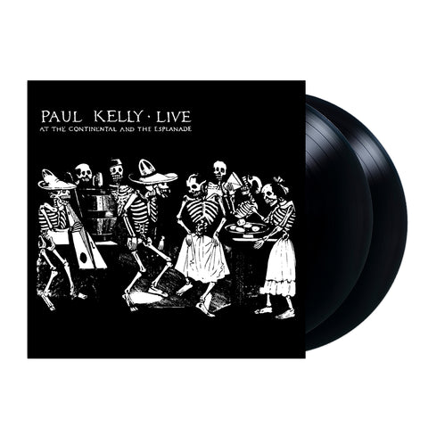 Paul Kelly Live at the Continental and Esplanade 2lp