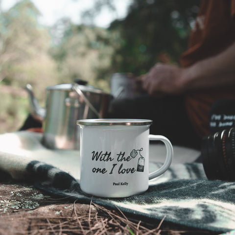 Paul Kelly Camping Mug image