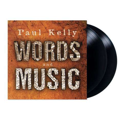 Paul Kelly Words and Music 2LP