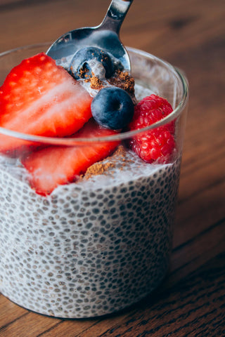 The Plantbase Store Chia seed pudding