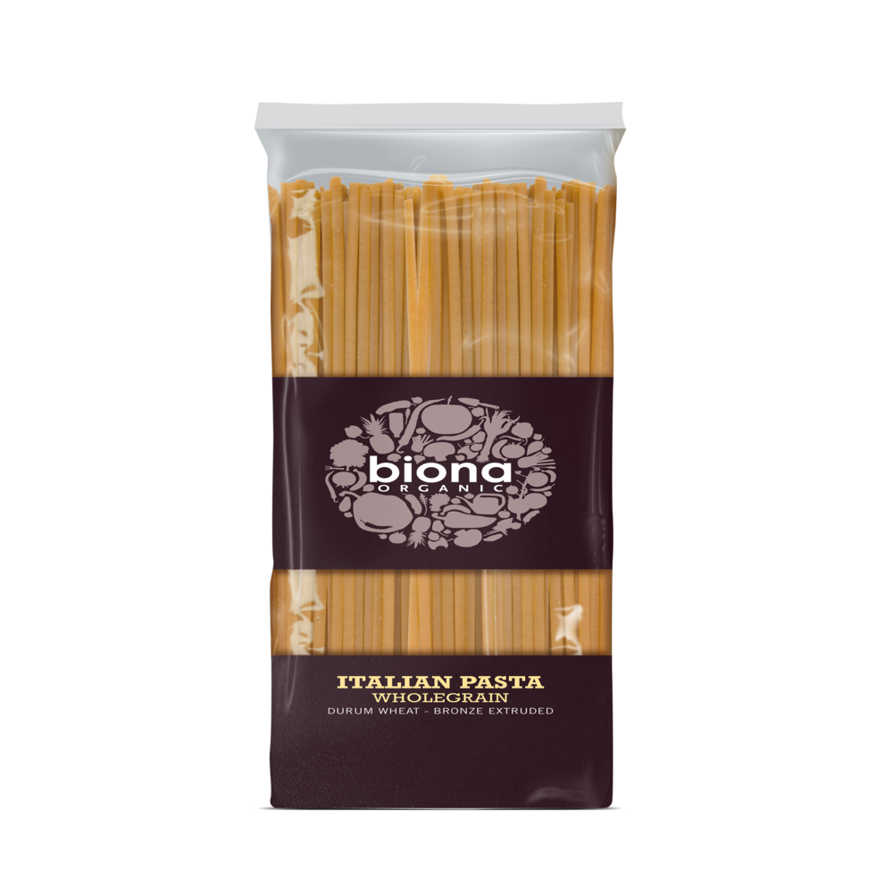 BIONA Organic Whole Linguine - bronze extruded 500g - Longdan Online Supermarket