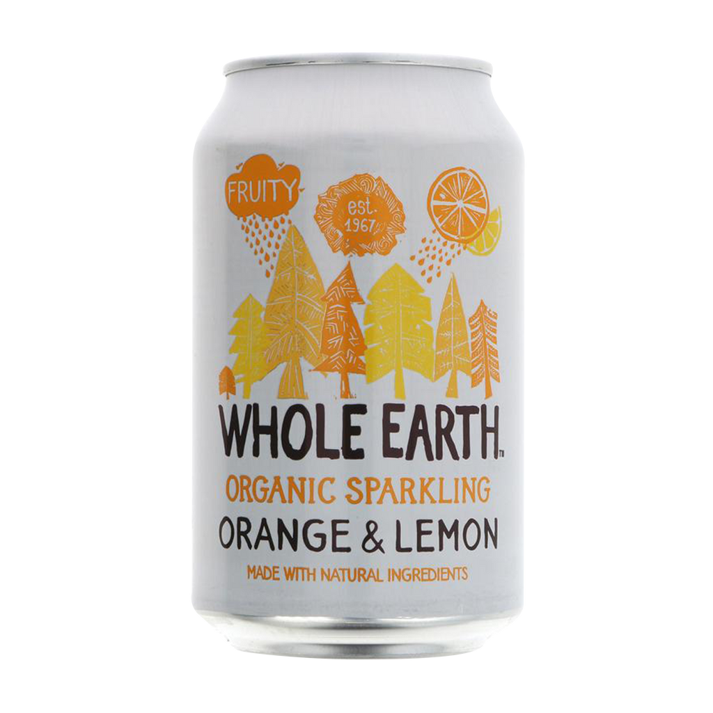 WHOLE EARTH Organic Orange & Lemonade 330ml
