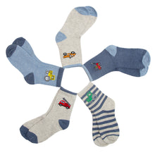 Load image into Gallery viewer, children's motor socks