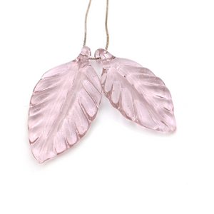 Double Leaf Necklace by Sabina Boehm