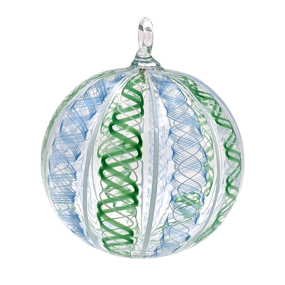 Load image into Gallery viewer, Handblown Glass Ornament
