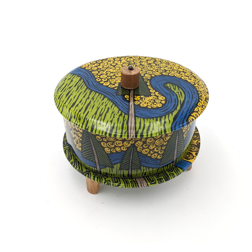 Woodland Lidded Box