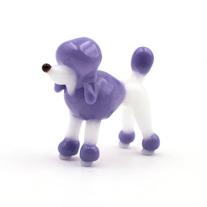 Load image into Gallery viewer, Purple Poodle Sculpture